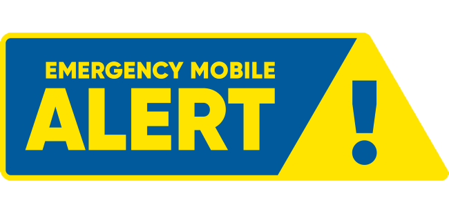 Find out more about Emergency Mobile Alerts