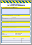 Sensitive Business Information Register