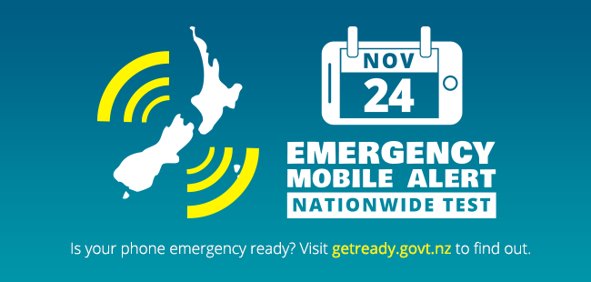 Find out about the nationwide test of the Emergency Mobile Alert
