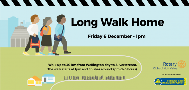 Are you ready for the challenge of the Long Walk Home?