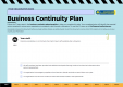 Template - Business Continuity Plan